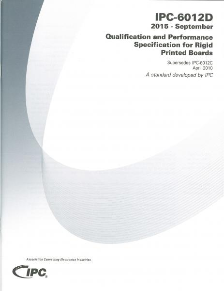 IPC-6012D Qualification and Performance Specification for Rigid Printed Boards