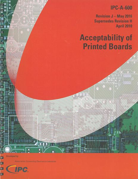 IPC-A-600J Acceptability of Printed Boards