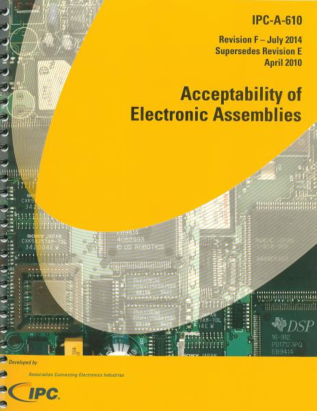 IPC-A-610F Acceptability of Electronic Assemblies
