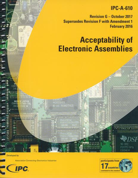 IPC-A-610G Acceptability of Electronic Assemblies