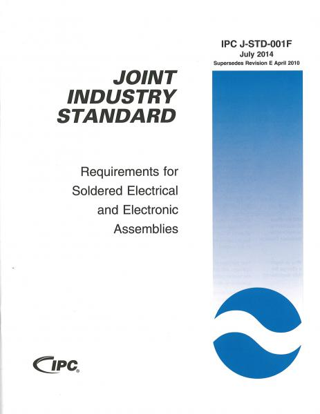 IPC J-STD-001F Requirements for Soldered Electrical and Electronic Assemblies