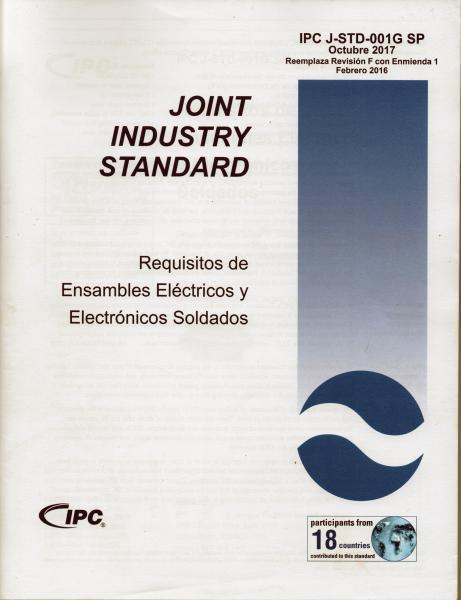 IPC J-STD-001G - Spanish Language