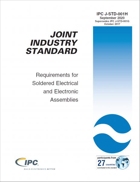IPC J-STD-001H Requirements for Soldered Electrical and Electronic Assemblies