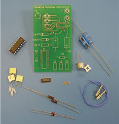 Soldering Skill Evaluation Kit with LEAD FREE Option