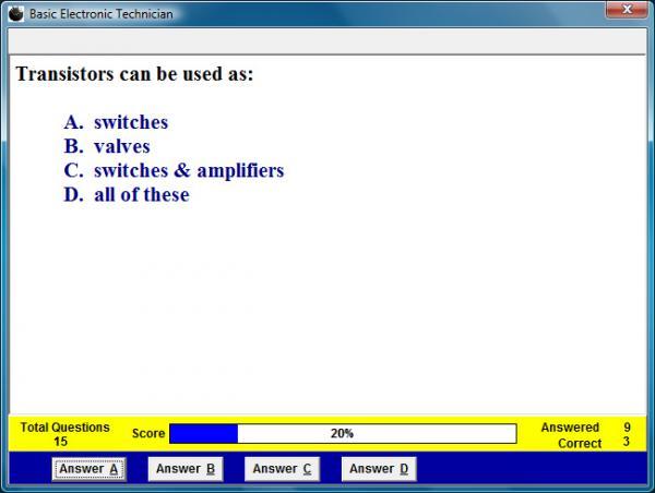 Basic Electronics Technician Assessment