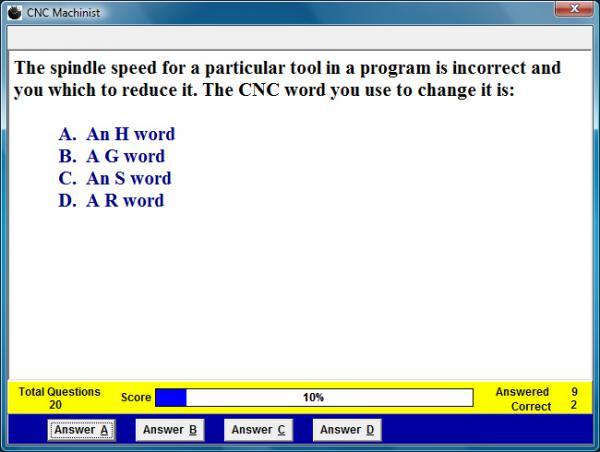 CNC Machinist Assessment