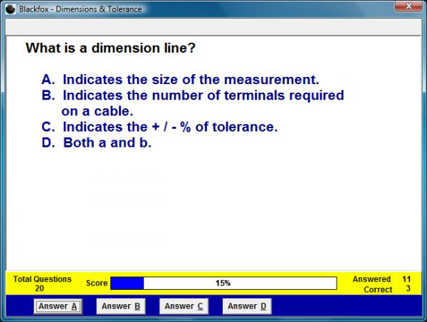 Dimensions and Tolerances Assessment