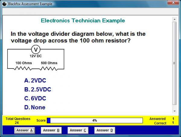 Electronics Technician Assessment