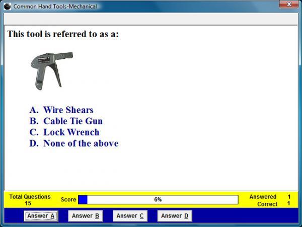 Mechanical Hand Tools Assessment