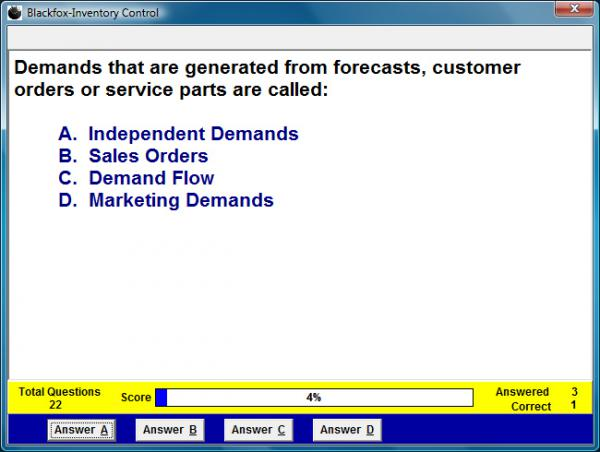 Inventory Control Assessment