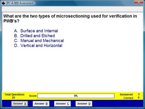 IPC-A-600 Assessment