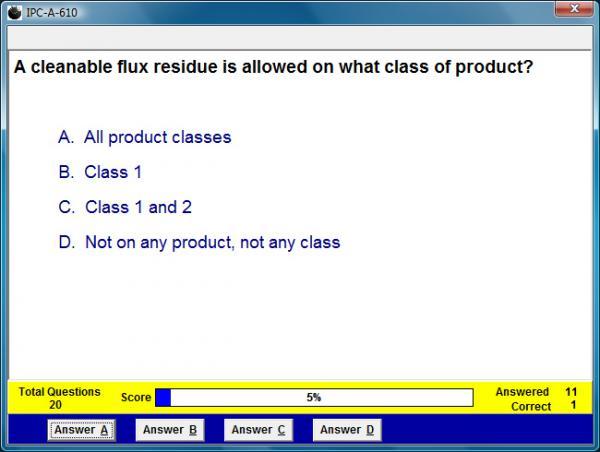 IPC-A-610 Assessment