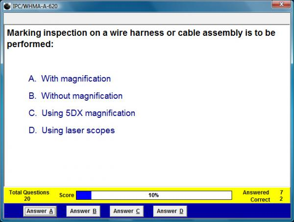 IPC/WHMA-A-620 Assessment