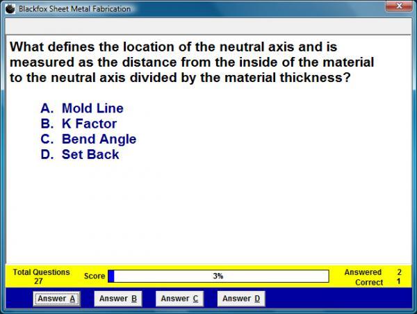 Sheet Metal Fabrication Assessment