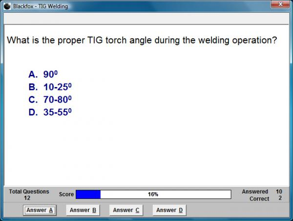 TIG Welding Assessment