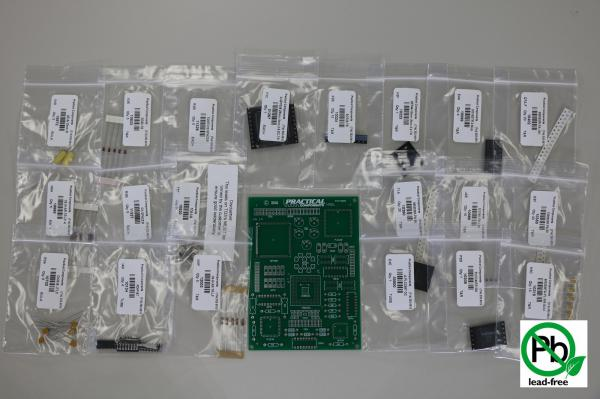 PC009 LEAD FREE Mixed Tech Kit - PCB & Parts