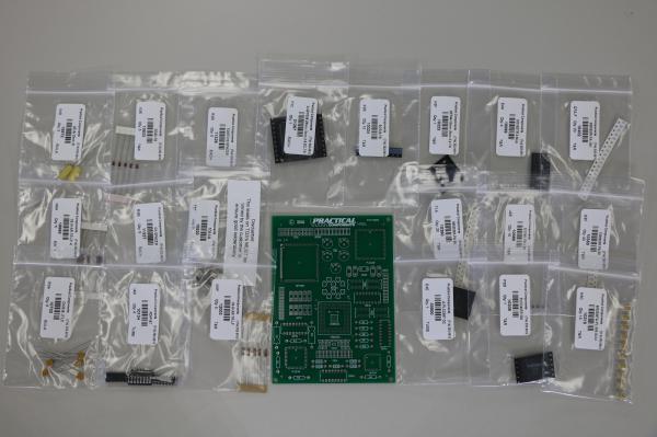 PC009 Mixed Technology Kit - PCB & Parts