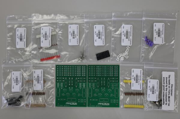 PC013 Through-Hole Training Kits - PCB & Parts
