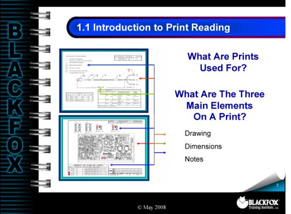 Cable Assembly Print Reading Training Materials