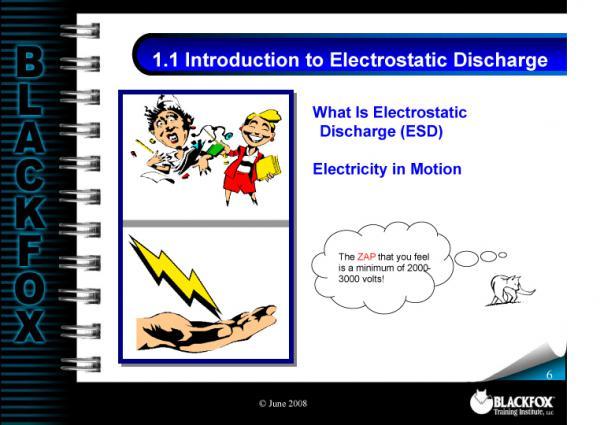 ESD Training Materials