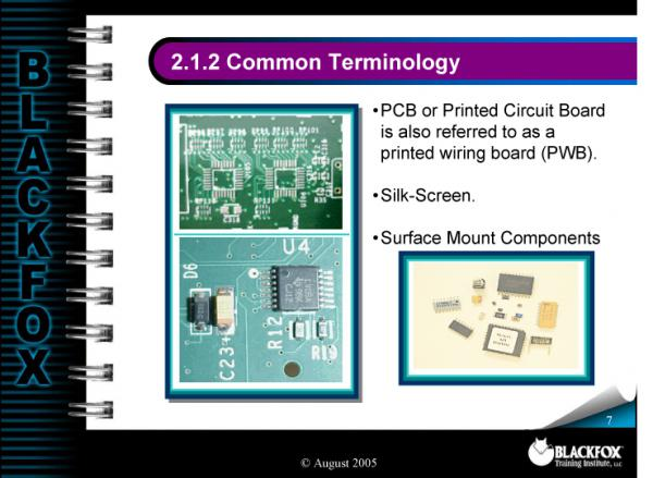SMT Component Recognition Training Materials