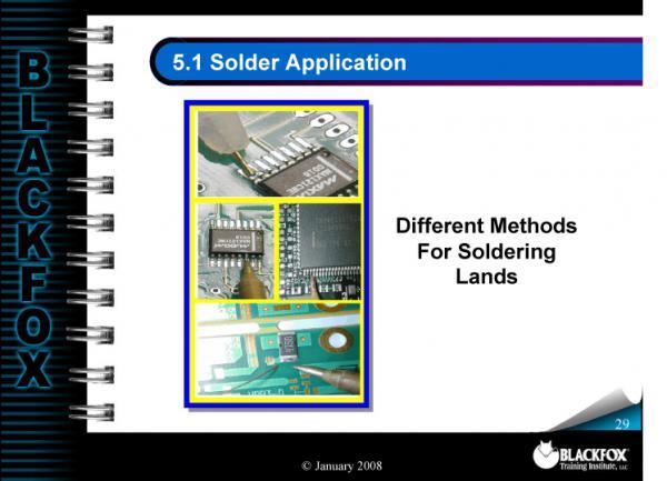 SMT Soldering Training Materials