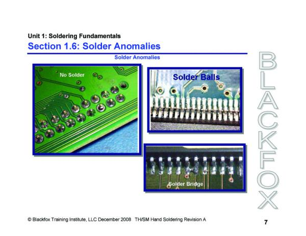 Through-Hole & SMT Soldering Training Materials