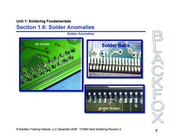 Through-Hole & SMT Soldering Training Materials