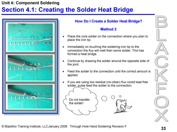 Through-Hole Soldering Training Materials