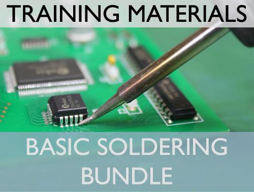 Basic Soldering Training Materials Bundle